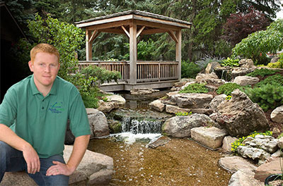 Brian Helfrich Pond Construction Contractor. Image