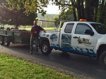 Pond service company with certified pond contractors of Rochester New (NY) - Acorn Ponds & Waterfalls