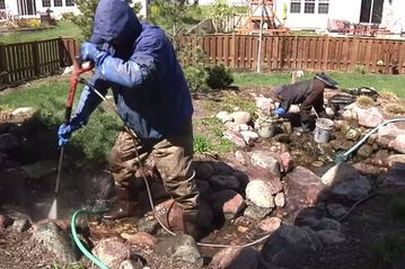 Pond Maintenance Cleaning Tips Rochester Ny Acorn Ponds Waterfalls