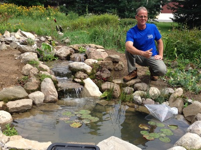 Pond Installation Service Company Of Rochester NY - Acorn Ponds & Waterfalls