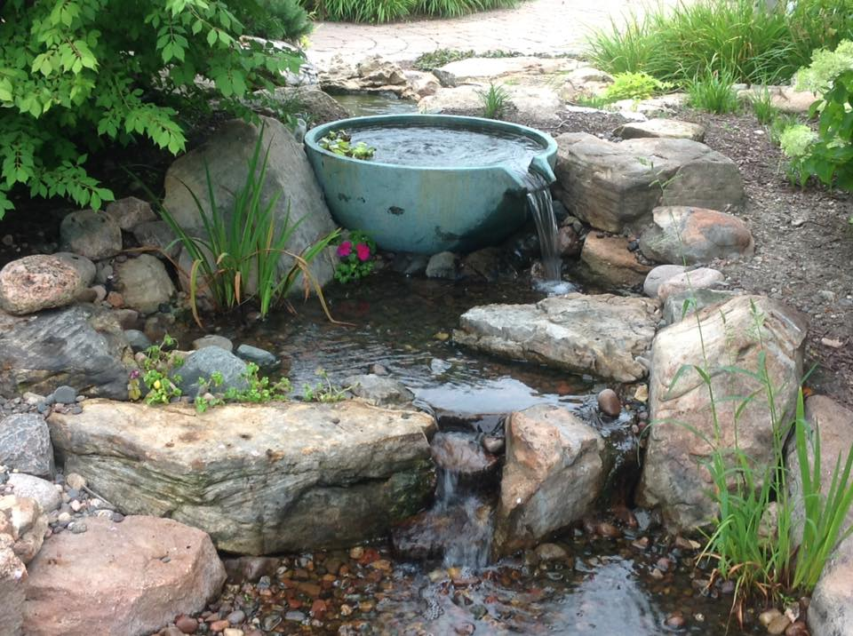 Patio ponds water feature installation maintenance repair for Maintaining a garden pond