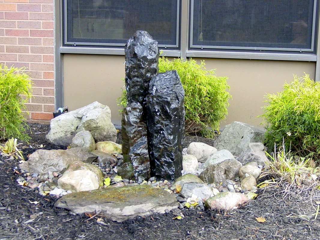 Water Feature Display At Weckesser Brick by Acorn Ponds & Waterfalls Of Rochester New York (NY). Image