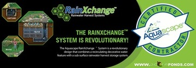Rainwater Collection Systems In Rochester (NY) Landscape Contractors, Acorn Ponds & Waterfalls. Rainwater Harvesting Image