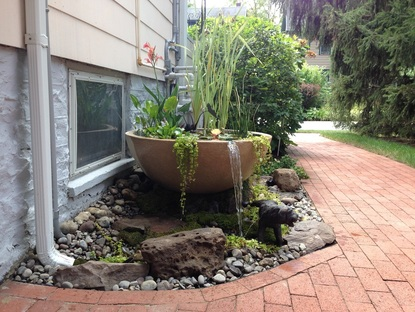 Professionally Installed Water Features in Rochester New York (NY) - Acorn