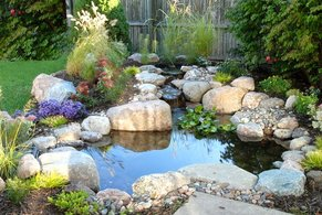 Koi Pond Filters & Filtration Systems For Small Ponds In Rochester New York (NY) By Acorn Ponds & Waterfalls