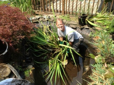 Pond Repair & Maintenance Service Company Of Rochester NY - Acorn Ponds & Waterfalls
