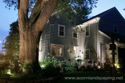 Add outdoor landscape lighting to your home & gardens with this gift certificate idea in Rochester New York (NY)