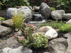 Pondless Waterfall Portfolio Water Features Water Feature