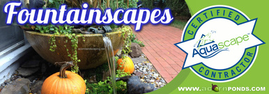 Landscape & Garden Fountain Services In Rochester (NY) By Landscape Contractors Acorn Ponds & Waterfalls. Fountainsacpes Image