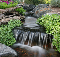 Contact Acorn now if you are experiencing leaks in your waterfall or pond 585-442-6373