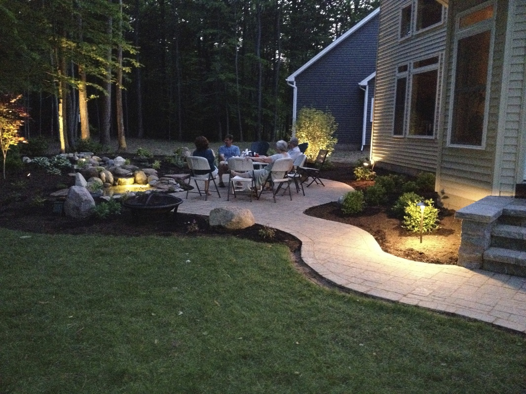 Led underwater pond water feature lighting services for Pool design rochester ny