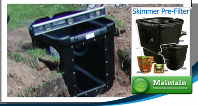 Correctly installed pond skimmer filters on your (NY) fish pond will reduce pond maintenance