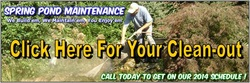 Pond Cleaning & Maintenance Company In Rochester NY-Acorn Ponds & Waterfalls