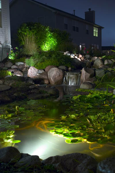 LED Pond & Underwater Lighting Contractors In Rochester (NY) New York Near Me
