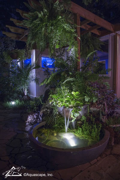 LED Waterfall & Fountain Lighting Installers In Rochester (NY) New York Near Me