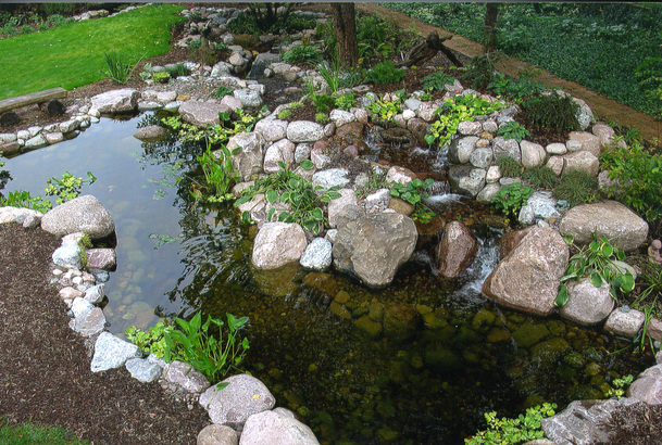 Acorn Ponds & Waterfalls Fish Pond Design Ideas In Rochester NY (New York)