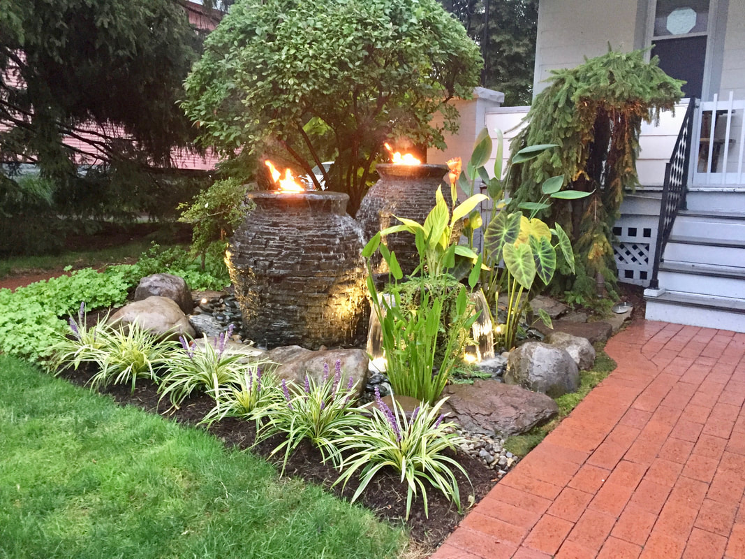 Landscape fountains & water feature Ideas In Rochester New York (NY)