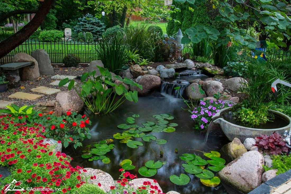 Water features to enhance your outdoor living spaces in Rochester New York (NY)