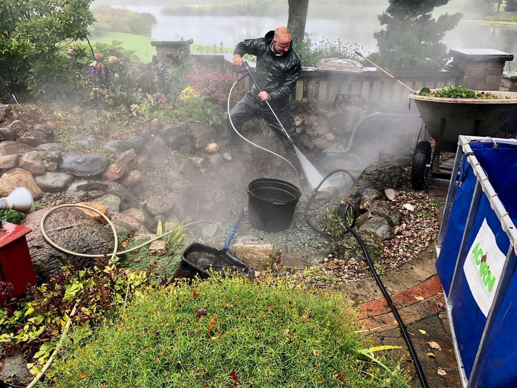 Water Feature Maintenance In Rochester (NY)