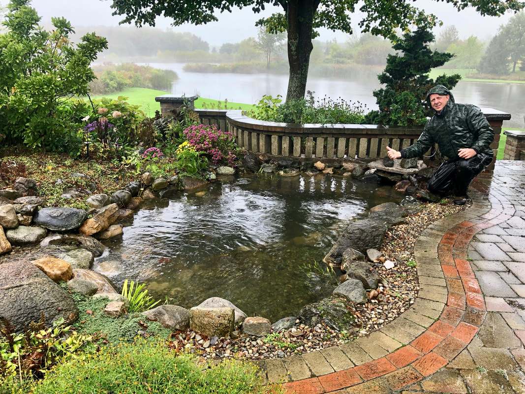 Backyard Pond Cleaning In Rochester (NY)